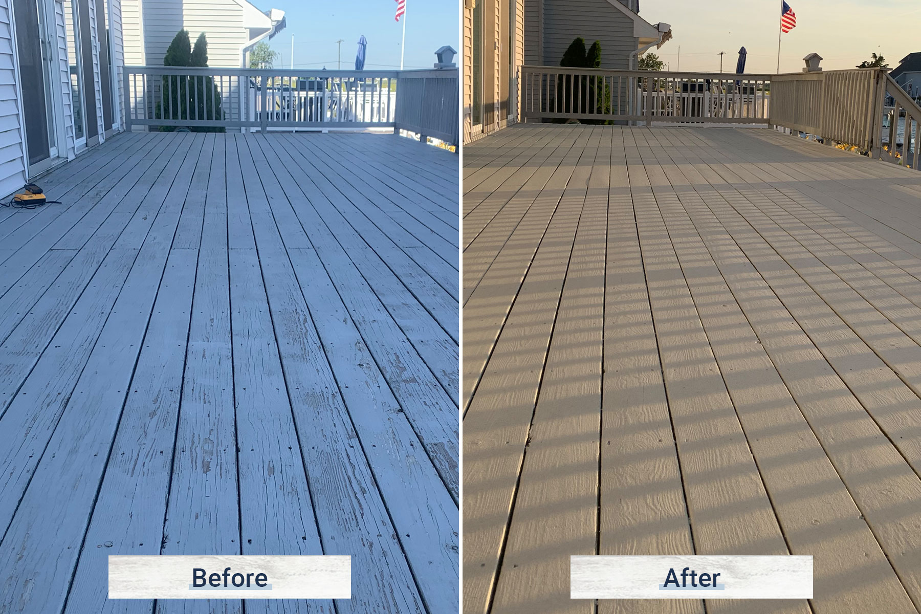 deck 3 before and after