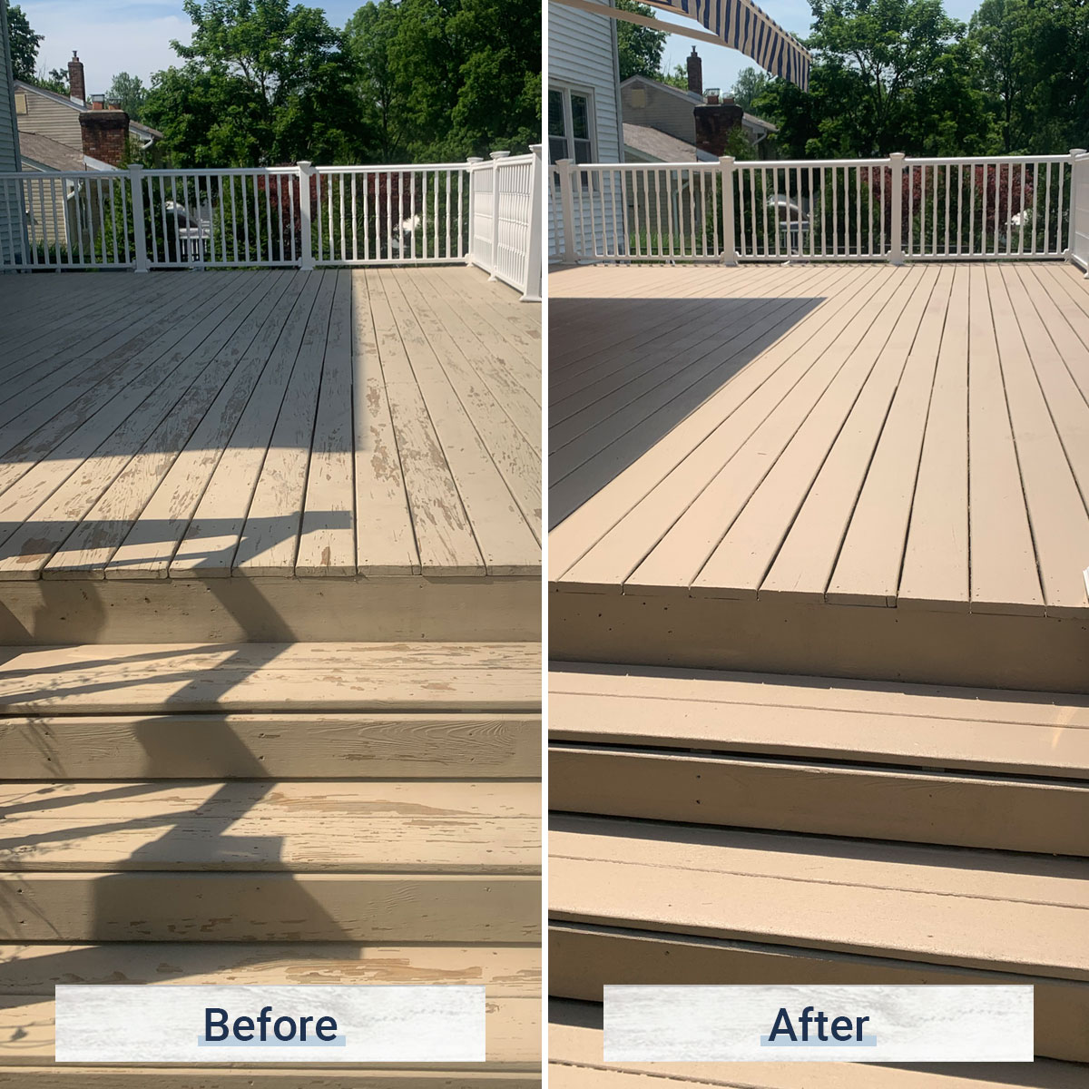 deck 4 before and after