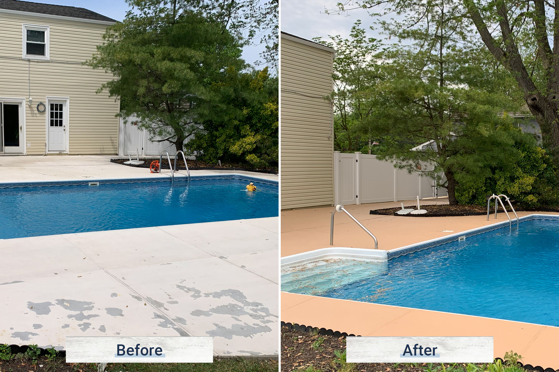 concrete 4 before and after