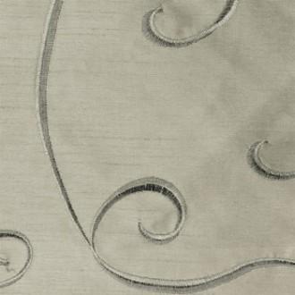 Silver Nova Swirl Linen