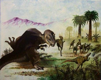 Figure 7. Allosaurus/dryosaurus, from McKee