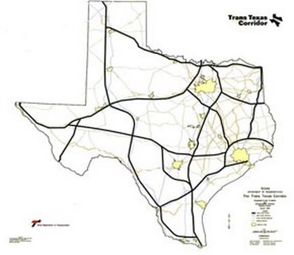Figure 7 4000 miles of projected TTC in Texas