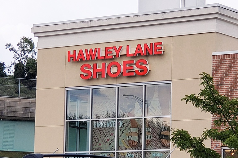 outdoor retail sign
