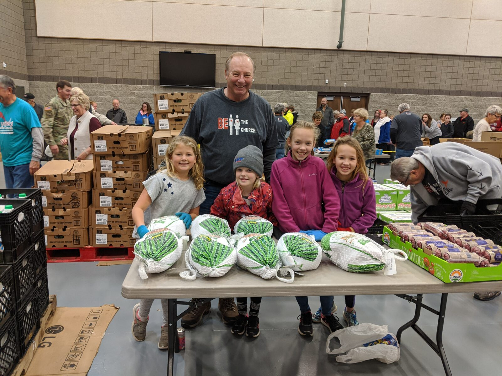 First Church Giving Back