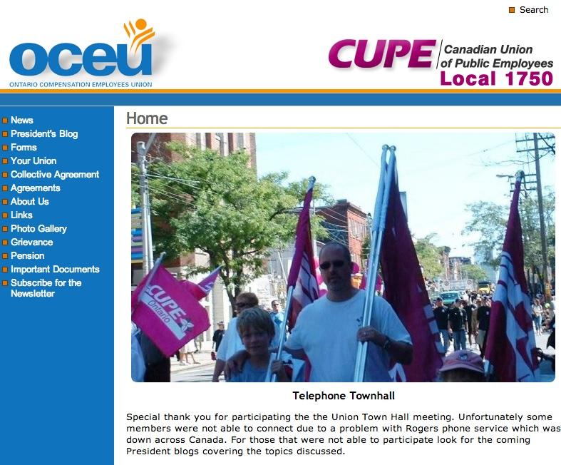 OCEU Website
