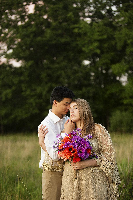 boho wedding in Ann Arbor