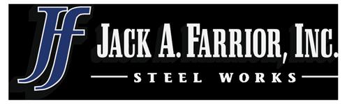 Jack A Farrior, Inc. Steel Works Logo
