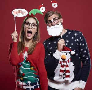 Ugly Christmas Sweater Party @ Schmidt's Sausage Haus & Banquet Hall