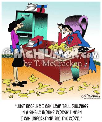 Tax Cartoon 7078