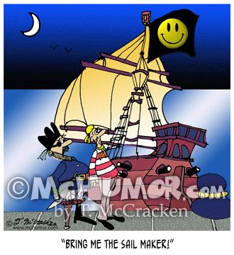 7458 Pirate Cartoon