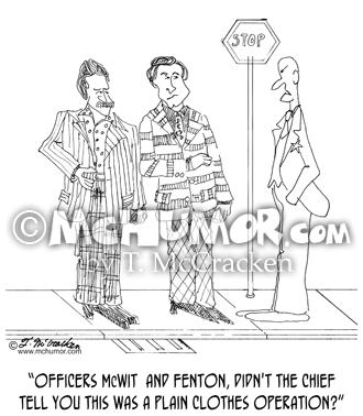 0271 Police Cartoon