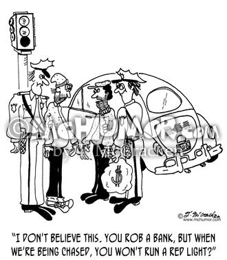 4881 Robbery Cartoon