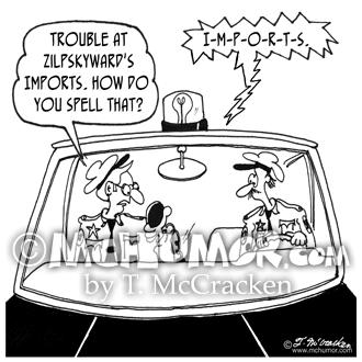 5125 Police Cartoon