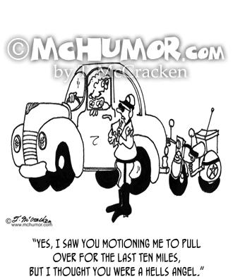 6202 Police Cartoon