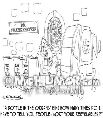 Recycling Cartoon 9266
