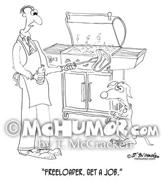 Dog Cartoon 9271