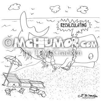 9283 Whale Cartoon