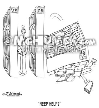 9299 Self Help Cartoon