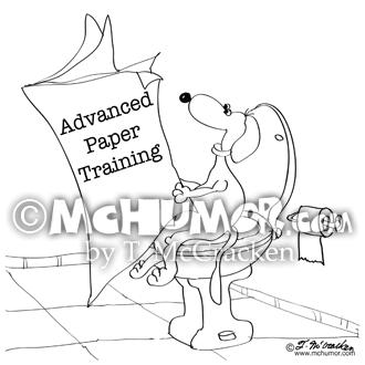 9264 Dog Cartoon