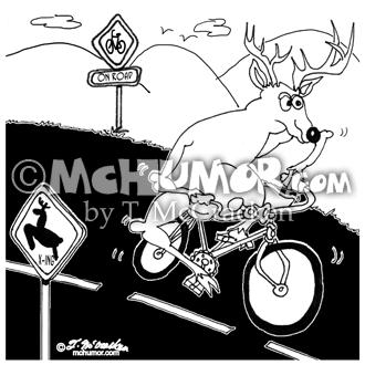 6721 Deer Cartoon