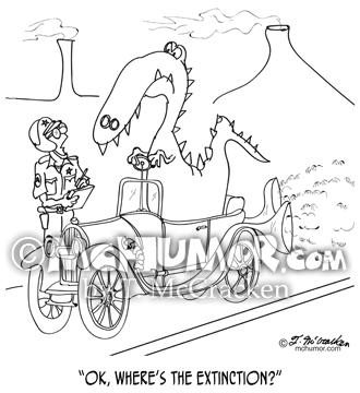 9325 Extinction Cartoon