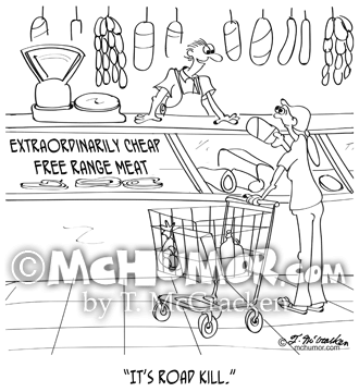 9340 Meat Cartoon