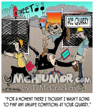 8152 Quarry Cartoon