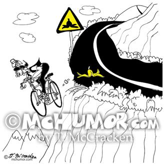 9334 Bicycle Cartoon