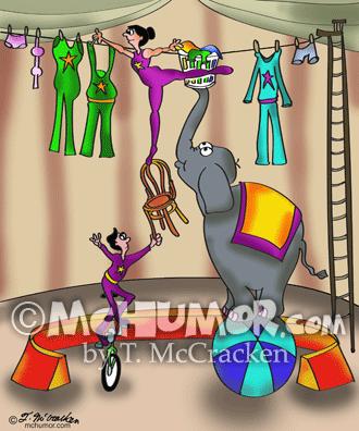 9376 Circus Cartoon