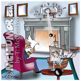 9384 Navy Cartoon