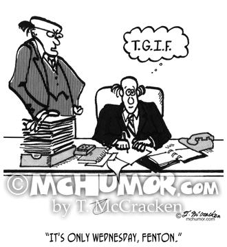 2589 Office Cartoon