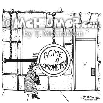 3070 Optometry Cartoon