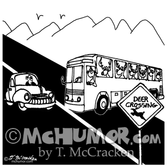 3251 Bus Cartoon