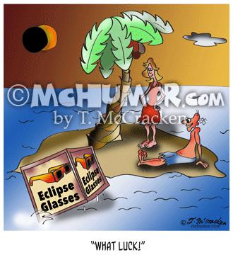 9523 Eclipse Cartoon