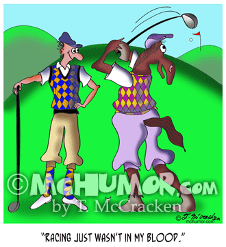 9528 golf cartoon