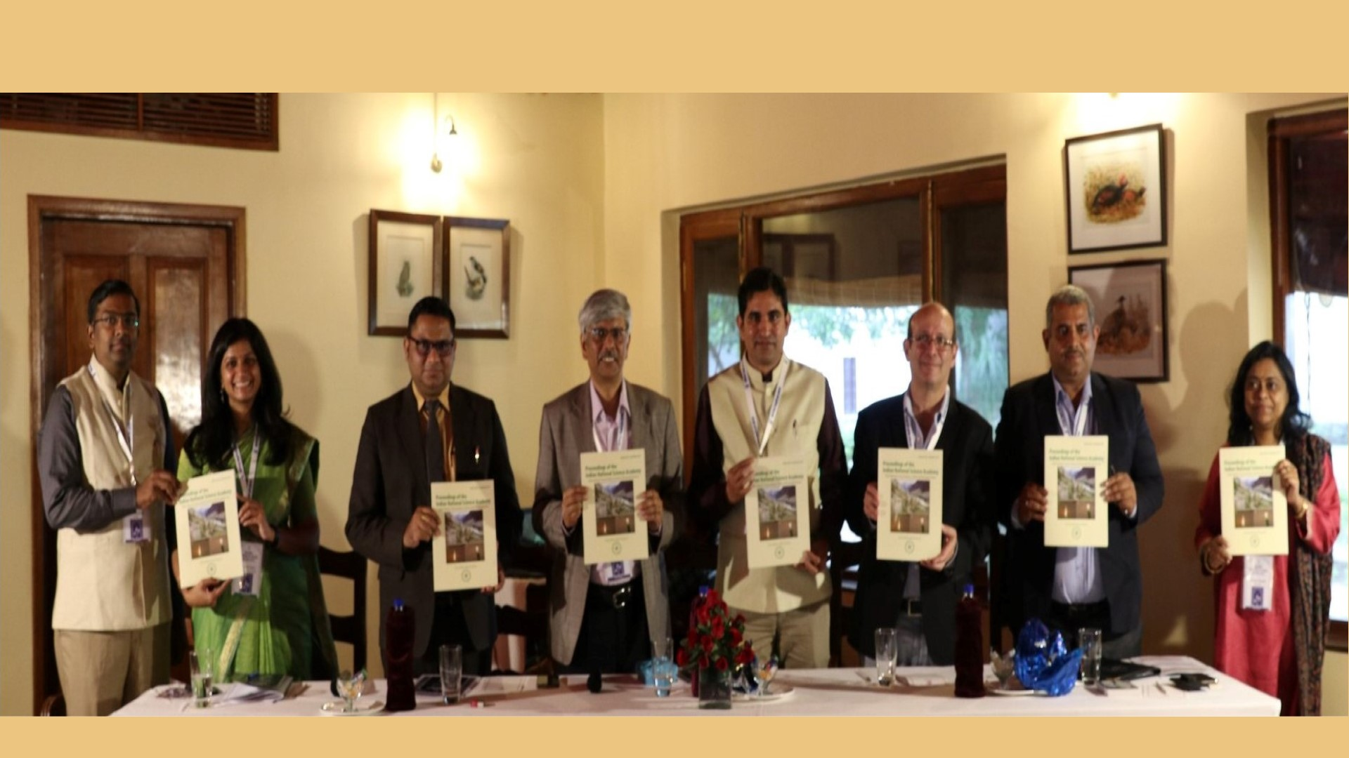 Release of 1st special issue of PINSA by INYAS during NatFoS 2019 (Nov. 2019)