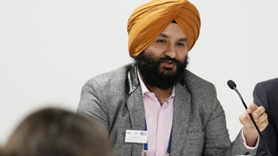 Dr. Paramdeep Singh joined the clinical diagnosis, imaging and microscopy cross-cutting sub-group of the WHO