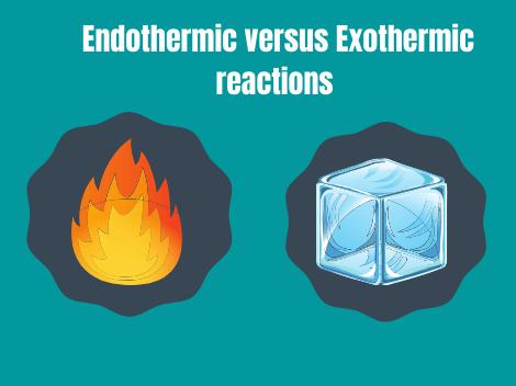 Endothermic versus exothermic