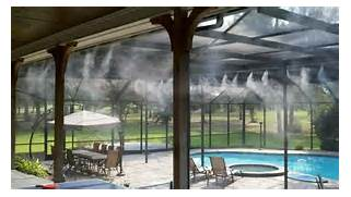 Patio Misting Systems in Phoenix by MistAir