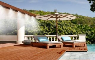Outdoor Cooling Systems MistAir AZ