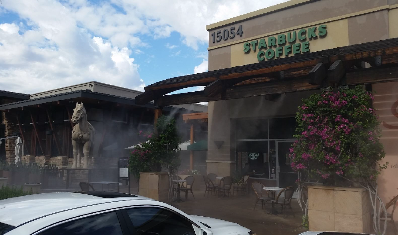 How Can Air Misting Systems Save You from Arizona's Dry Summer Heat?