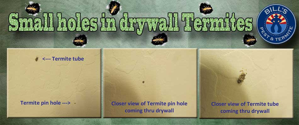 Small Holes in Drywall