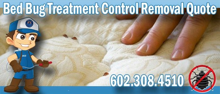 Bed Bug Treatment Control Removal Quote