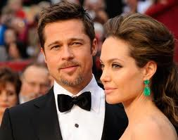 Brad came close to smothering to death in Angelina's lips.