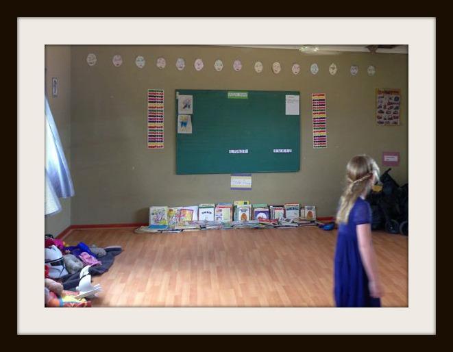Bridget in Class room 3