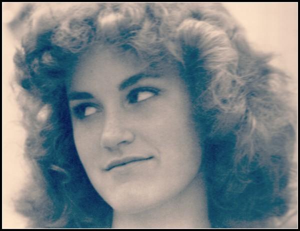 Me big hair high schoolpic