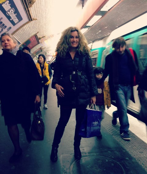 Shannon Bradley Colleary, traveling with kids in Paris, Le Metro