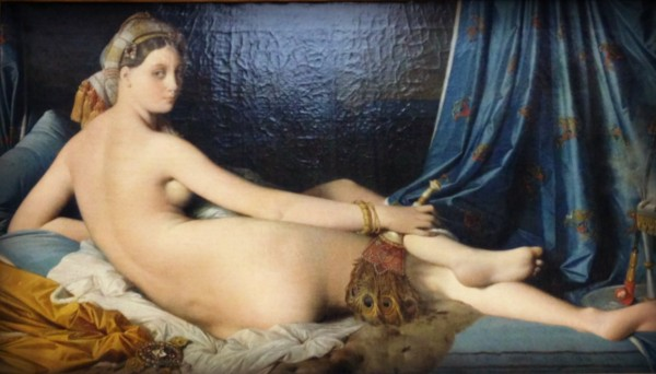 Although I had some explaining to do about posing for Jean Auguste Dominique's