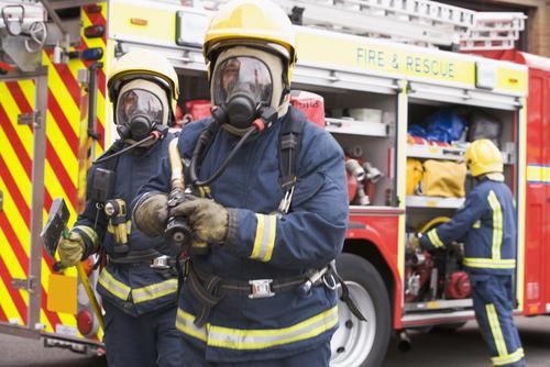Paramedics and Gas Masks