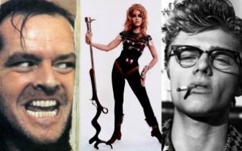 Jack Nicholson, Jane Fonda, James Dean and Me?